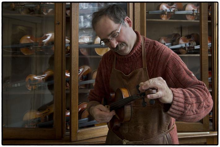 Bezoek het vioolatelier Jan van der Elst